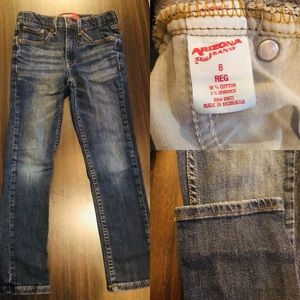 New with out tags boys Arizona straight leg jeans
